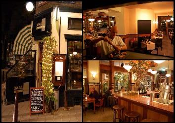 Restaurant Daalder op de Lindengracht in Amsterdam Jordaan