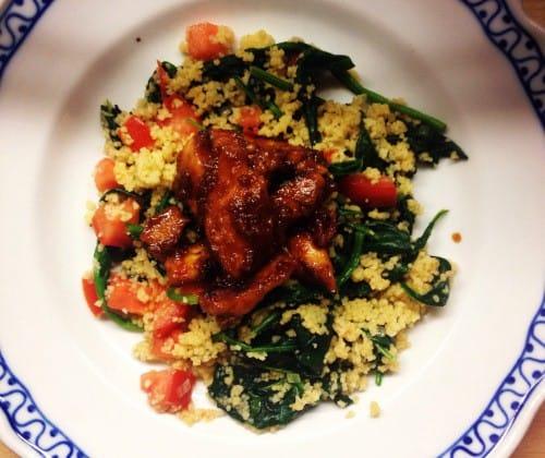 Sticky Chicken & Couscous van The Lion Kitchen