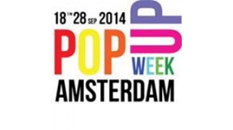 Pop-up week Amsterdam 2014 tm 28 september