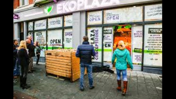 Ekoplaza conceptstore Amsterdam