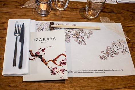 Sakhura menu