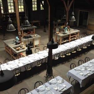 Restaurant Choux op de Ruyterkade in Amsterdam Centrum