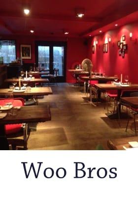 Aziatisch Restaurant Woo Bros Centrum Amsterdam Jodenbreestraat hoog