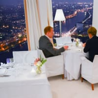 Sterren Pop-up restaurant Hemels Rembrandt Amsterdam in Rembrandt Tower Boardroom