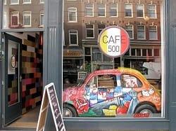 Italiaans Restaurant Caffe 500 Amsterdam de Pijp