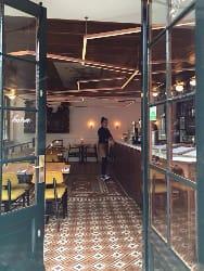Restaurant Venus en Adonis op de Prinsengracht in Amsterdam Jordaan