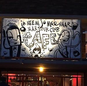 The Harbour Club Café bij het Olympisch stadion in Amsterdam Zuid