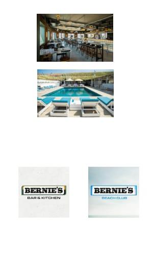 Bernie's Beachclub en Bar & Kitchen Zandvoort