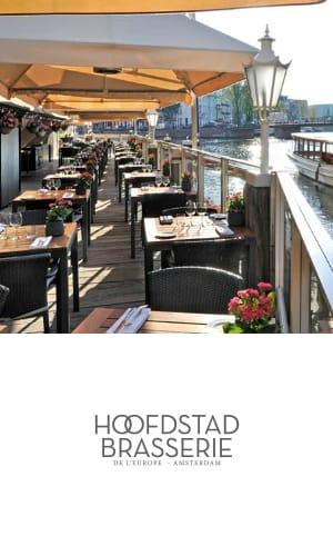 Hèt Terras bij Hoofdstad Brasserie, Amsterdam centrum