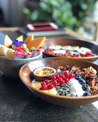 Breakfast bowls Amsterdam; Benji's