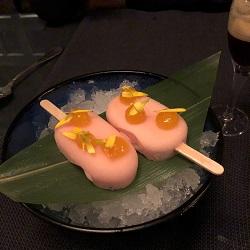 Taiko Restaurant / lychee dragon ijs