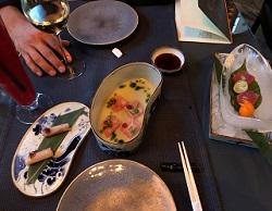 Taiko Restaurant / Tonijn sashimi