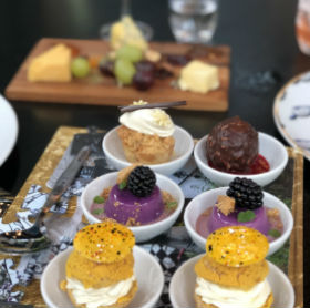 Mad Hatter's Brunch - dessert