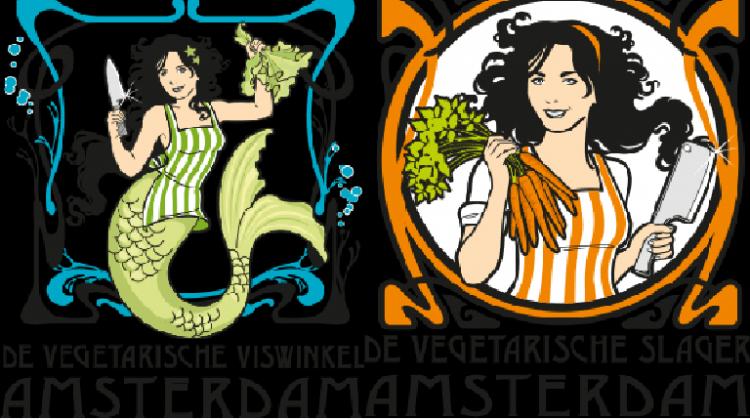 vegetarische slager en viswinkel Amsterdam
