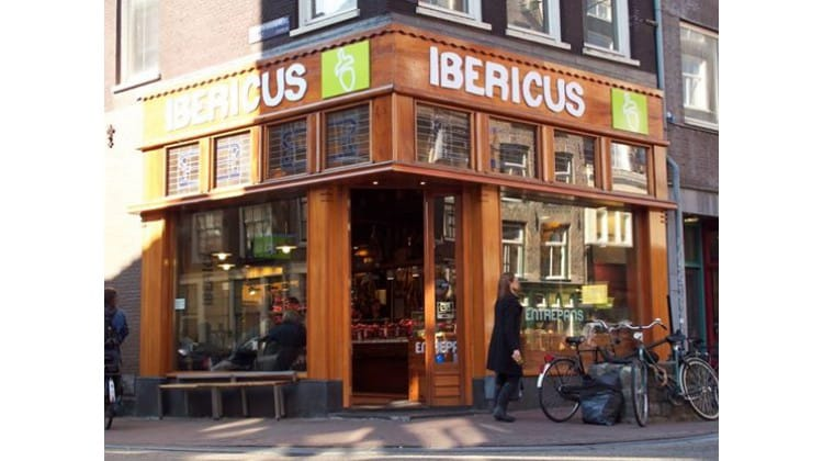 Ibericus op de Haarlemmerstraat