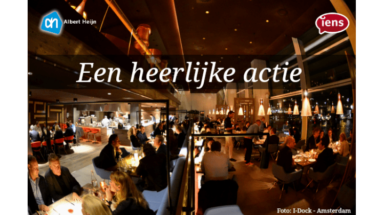 Restaurant spaaractie Iens en Albert heijn