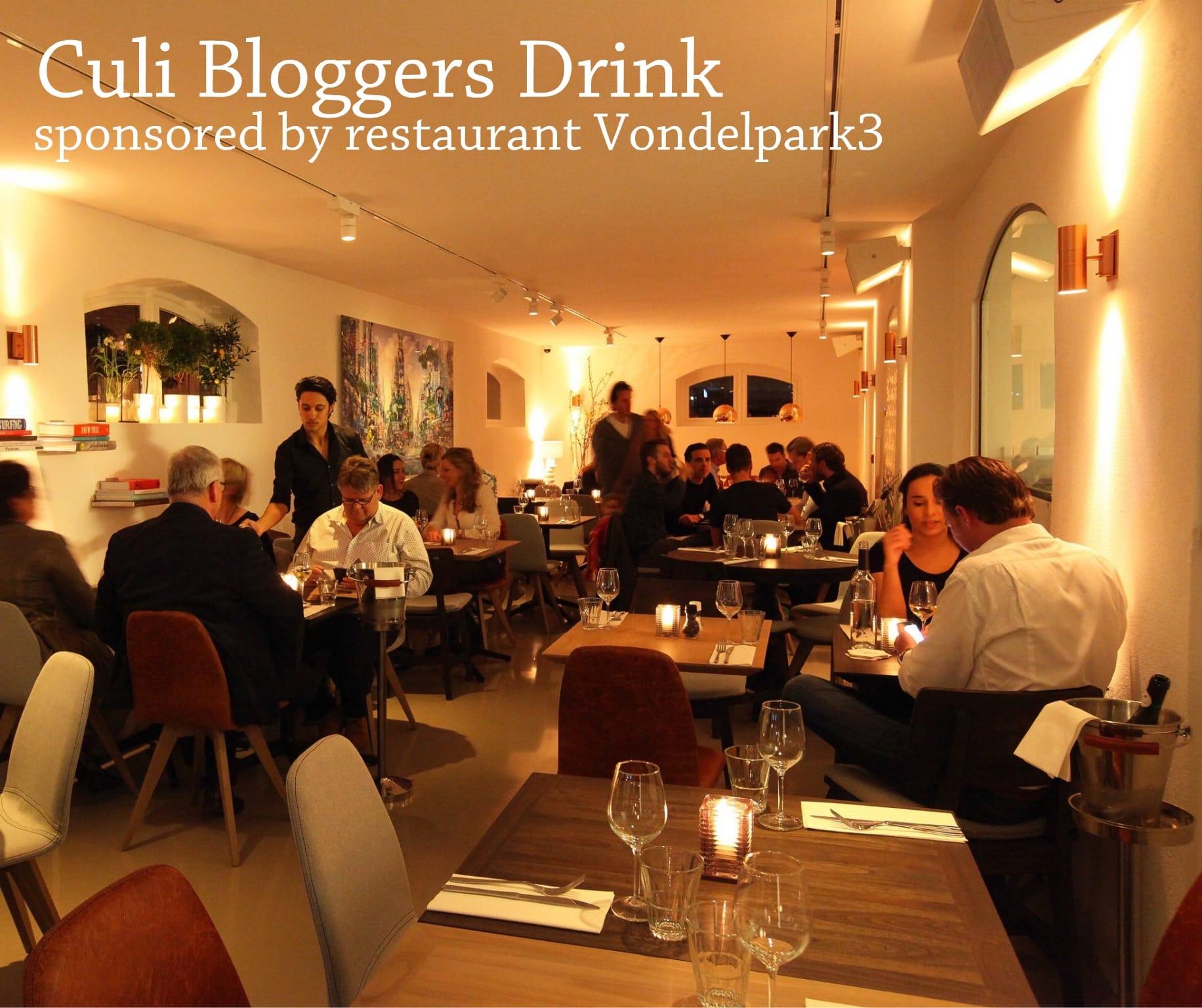 Culi Bloggers Drink at Vondelpark3