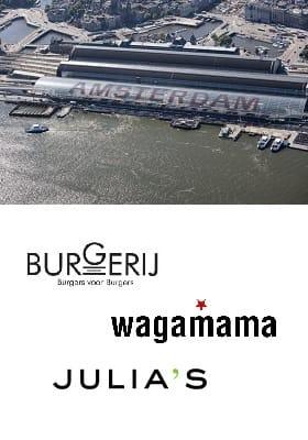 Amsterdam Centraal station restaurants