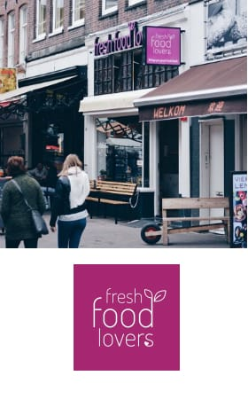 Fresh Food Lovers, de Pijp Amsterdam