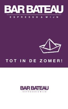 Bar Bateau, Amsterdam west