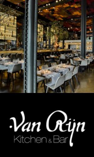 Bar & Kitchen van Rijn Amsterdam centrum