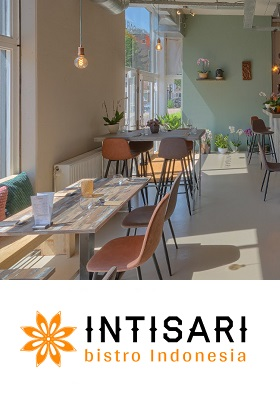 Intisari Indonesisch restaurant Amsterdam West Balboastraat c