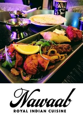Restaurant Nawaab Indiaas restaurant Amsterdam Zuid Scheldestraat cover