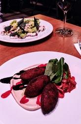Restaurant Pllek Amsterdam Noord TT Neveritaweg falafel