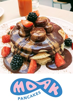 Moak Pancakes Restaurant Amsterdam de Pijp Ferdinand Bolstraat cover