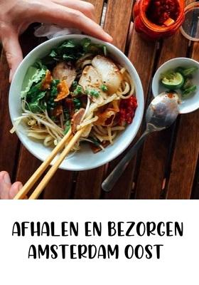 Eten afhalen en bezorgen in Amsterdam Oost cover