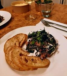 Take away Morgan and Mees Restaurant Hotel Amsterdam West steak tartaar