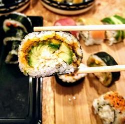 Zushi sushi restaurant Amsterdam Centrum california maki
