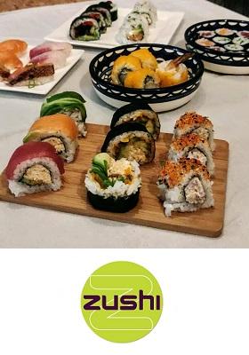 Zushi sushi restaurant Amsterdam Centrum cover