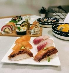 Zushi sushi restaurant Amsterdam Centrum nigiri