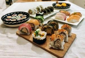 Zushi sushi restaurant Amsterdam Centrum