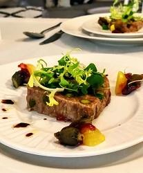 Amstel Restaurant Amstel Hotel professor Tulpplein Amsterdam Centrum eendenrilette