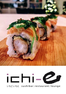 ichi-e Japans Restaurant Sushi Bar Amsterdam Zuid Oost Johan Cruijff boulevard cover