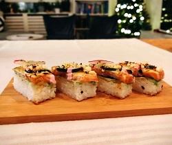 ichi-e Japans Restaurant Sushi Bar Amsterdam Zuid Oost Johan Cruijff boulevard oshi zushi