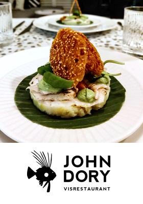 John Dory Visrestaurant Amsterdam Centrum Prinsengracht