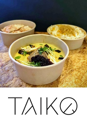 Curious Curry Pop-Up Taiko Restaurant Amsterdam Zuid eten bestellen c
