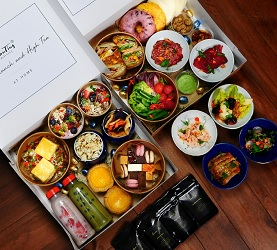 Paasbrunch paasdiner bestellen Amsterdam Restaurant HanTing Delivery