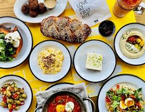 Paasbrunch paasdiner bestellen Amsterdam Restaurant NENI