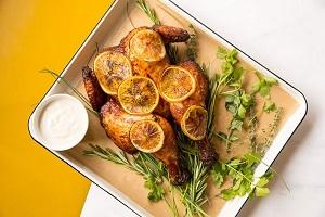 Restaurant Celia paasdiner eten bestellen amsterdam centrum boerderijkip
