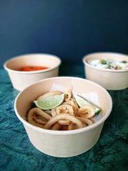 Restaurant Bluespoon Amsterdam Centrum Prinsengracht Eten bestellen calamari