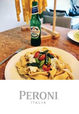 Peroni Pasta Night Peroni Nastro Azzurro