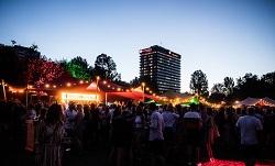 Fete du champagne champagnefestival Amsterdam West Rembrandtpark 3