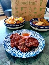 Pad Thai World Thais restaurant Amsterdam fishcakes