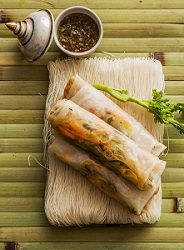 Recept Vietnames springrolls Wereldse smaakmakers Pascal Jalhay - credits Harold Pereira