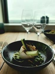 Restaurant Floor17 Staalmeesterslaan Amsterdam West Burrata