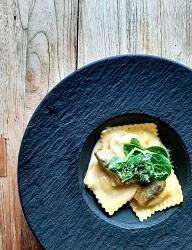 Restaurant Floor17 Staalmeesterslaan Amsterdam West Ravioli